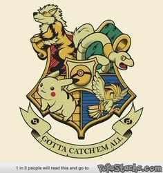 Hogwarts House- Pokemon Ed.