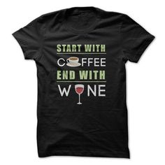 End With Wine Funny T Shirts, Hoodie. Shopping Online Now ==►…