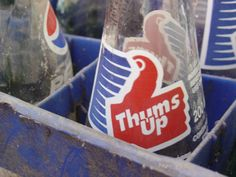 Thums up! indian coke  Photo by Stephanie Suhowatsky