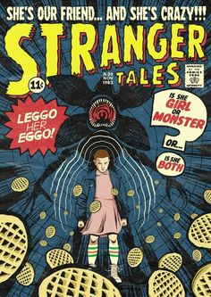 Myql comic covers, book covers, stranger things fan art, stranger things have happened Room Posters, Poster Wall, Poster Prints, 80s Posters, Stranger Things Funny, Stranger Things Netflix, Stranger Things Fan Art, Vintage Cartoon, Vintage Comics