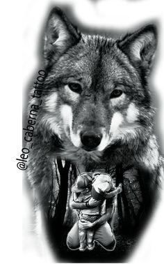 Wolf Tattoos Men, Badass Tattoos, Dog Tattoos, Animal Tattoos, Tattoo Drawings, Body Art Tattoos, Tattoos For Guys, Wolf Tattoo Forearm, Celtic Wolf Tattoo