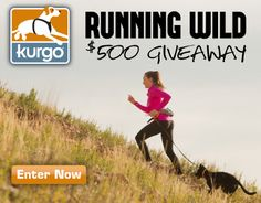 Enter the Running Wild giveaway! $500 in prizes for active dogs!