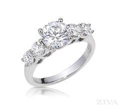 5-Stone Engagement Ring