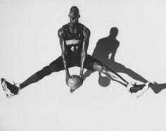Timberwolves forward Kevin Garnett poses during a 1999 photo shoot with Sports Illustrated Walter Looss Jr.  GALLERY: Rare Photos of Kevin Garnett