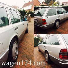 Winter ❄️ Setup mounted... W203 steel sized 7x16 with 205 55 R16 and W140 hubcaps... What do you guys think?  www.wagen124.com www.facebook.com/wagen124 #w124 #s124 #c124 #mercedes #classicmercedes #drivetastefully #instacar #instabenz #classiccar #hamburg #garage #youngtimer #hubcaps #winter #sucks