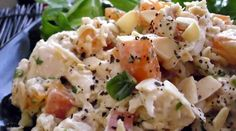 Chicken apricot salad, inexpensive...I want to try this!