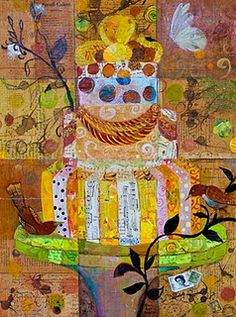 Just love this style of collage!! claire nelson