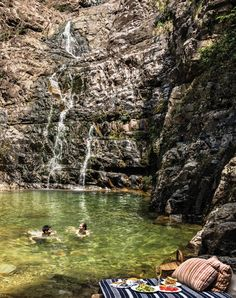 Your private waterfall awaits in Langkawi, Malaysia. Pack a picnic and champagne to make your excursion extra delicious. Amazing Destinations, Vacation Destinations, Malaysia Travel, Malaysia Trip, Places To Travel, Places To See, Agua Natural, Kuala Lampur, Luxury Beach Resorts