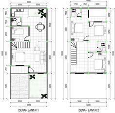 tangga rumah minimalis modern 2 lantai - Google Search