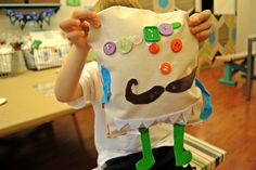 Make your own character pillow at Lollipop's Open Studio, Camp or Birthday Parties! www.lollipopartlounge.com