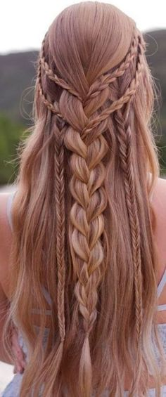 40 Trendy Braided Hairstyles For Long Hair To Look Amazingly Awesome; long weddi… 40 Trendy Braided Hairstyles For Long Hair To Look Amazingly Awesome; Half Updo Hairstyles, Teen Hairstyles, Wedding Hairstyles For Long Hair, Braids For Long Hair, Hair Updo, Pretty Hairstyles, Hairstyles 2018, Everyday Hairstyles, Hair Styles Everyday