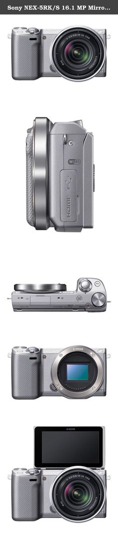 Sony NEX-5RK/S 16.1 MP Mirrorless Digital Camera with 18-55mm Lens and 3-Inch LCD (Silver) (OLD MODEL). Shoot and share DSLR-quality photos online, straight from the camera. With built-in Wi-Fi®, the NEX-5R even lets you download camera apps for endless creative possibilities.11 And the 16.1MP APS-C size sensor delivers breathtaking stills with pro-grade defocused backgrounds. All this and more in a camera that's about half the size of a DSLR.