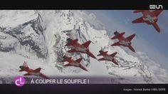 Le vidéaste Yannick Barthe a produit des images extraordinaires de la Patrouille Suisse