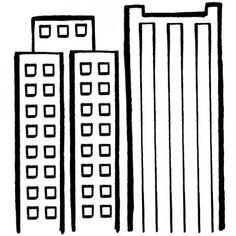 dibujos de ciudades para imprimir  Buscar con Google  dibujos de