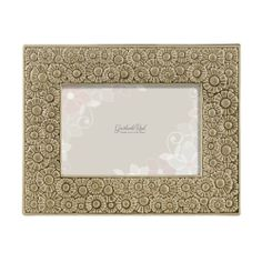 Treasure special moments. Sterling Taupe Blossom Relief Frame features a contemporary floral motif and a sterling taupe ceramic glaze. Frame designed to hold 4 x 6 inch horizontal or vertical photo. Easy screw turn leaf plates on velvet back for photo insert. Beautiful keepsake hangs or displays easel style. This perfect gift is gift boxed and is ready for gifting from Grasslands Road #Wedding #Ceramic #Glass #embossed #GiftBox #picture #EverydayLife #LoveIs #GrasslandsRoad