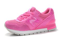 New Balance Running Shoes Pink Womens Classics Sneakers 996