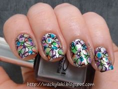 Wacky Laki: Sunday Stamping: Dots or Circles