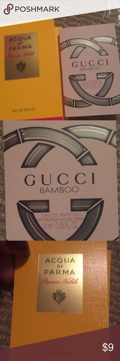 Parfum bundle 1 1.5ml Gucci bamboo parfum 1 1.5ml Acqua of Parma peonia mobile Gucci Other