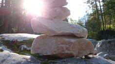 Steine stappeln