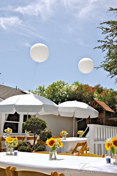 Nowadays baby showers aren't just for the ladies. Trade in the Baby Bingo games for a chic backyard BBQ shower that can be enjoyed by every...