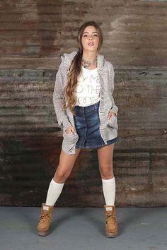 Sacón Doll Fins ideal para este frío! #saco #bolsillos