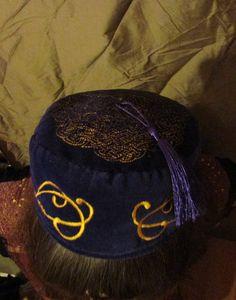 360f96caa7e Velvet and Gold Smoking Cap