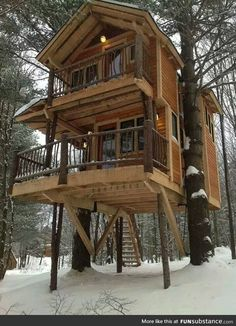 That is a TREE house