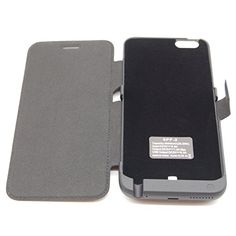 DigitBay 6PF-2 8000 mAH High Capacity Li-Polymer Battery Charger Case with Standing Holder and Magnetic Buckle Flip Cover for iPhone 6 Plus 6S Plus DigitBay http://www.amazon.com/dp/B019FP0IE8/ref=cm_sw_r_pi_dp_lJRCwb1EJNPEH