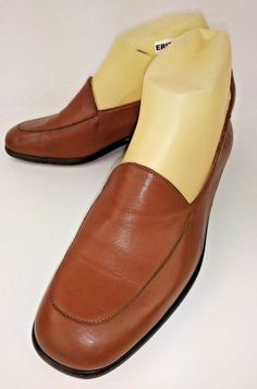 d26f15ed2 Cole Haan F5986 Wos Shoes Loafers US 6.5 B Brown Leather Heels Italy  #fashion #clothing #shoes #accessories #womensshoes #heels (ebay link)