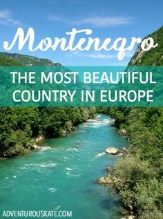 Ah, Montenegro.  I knew I'd love it.  I knew it would be beautiful.  But I had no idea that it would have the kind of beauty to knock me off my feet and render me speechless! I'm ready to declare it the most naturally beautiful country in Europe.  Here's what it has going for it.: