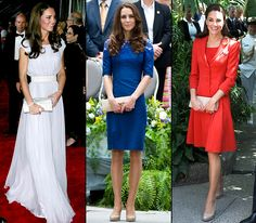 """Kate Middleton Duchess Catherine's impeccable sense of style was recently praised by Anne Hathaway. """"I'm just very grateful to Kate Middleton for making looking appropriate really fun again,"""" the actress said, calling the 29-year-old royal an """"advocate for dressing like a lady."""