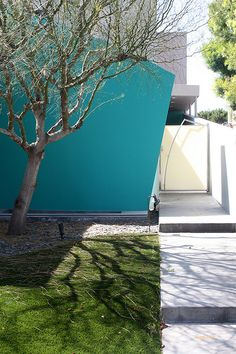 Modern Architecture, exterior wall colour