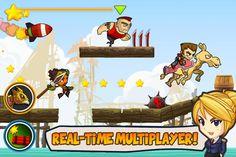 Battle Run yapımcılarından, tarz olarak Battle Run oyununa benzeyen ama çok daha gelişmiş özelliklere sahip süper bir oyun daha gelmiş..