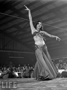 samia gamal | Samia Gamal Opening In Dallas, October 27 1952.Photograph series by ...