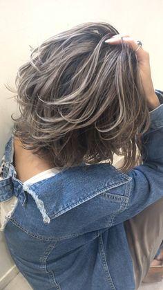 Medium Hair Cuts, Short Hair Cuts, Medium Hair Styles, Curly Hair Styles, Hair Color Streaks, Dark Hair With Highlights, Caramel Highlights, Chunky Highlights, Color Highlights