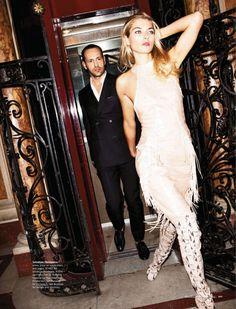 Fashion's Best Kept Secret: Jessica Hart and Massimiliano Giornetti by Magnus Unnar for Harper's Bazaar Australia January 2013