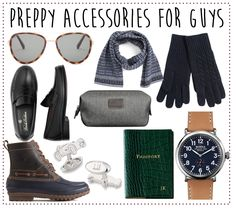 preppy holiday gifts for guys! preppy accessoriess for guys!