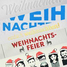 Weihnachtskarten... da war doch was?! Wir produzieren schon eifrig, teils sehr aufwändig gemachte Weihnachtsgrüße. Damit die schöne Post auch zeitig bei Partnern, Kunden & Co. ankommt, solltet ihr bald starten! // The holidays are getting closer, don't forget to print your cards and wishes in time!  #greetingcards #christmascards #letterjazz #letterpresscards #mitschmackesgedruckt #madeingermany
