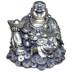 Laughing Buddha Buddha Artwork, Holy Symbol, Tribal Turtle Tattoos, Buddha Tattoo Design, Buddha Figures, Buddha Decor, Buddha Life, Little Buddha, Irezumi Tattoos