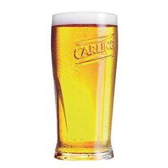 1st February 2013 ~ #DailyPint 32: Pint of Carling. The John Smiths of lager. Silly creamy head. 5/10 [Drank at home]