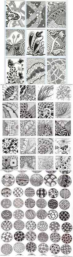 Zentangle Patterns & Ideas by Sherylita Mason-Cruise