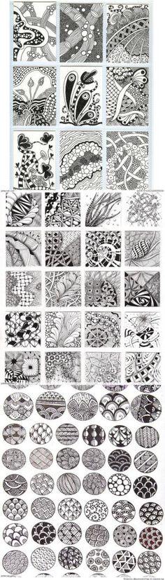 Zentangle Patterns & Ideas by Sherylita Mason-Cruise