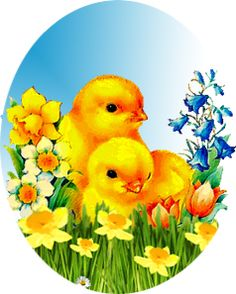 2 chick - easter