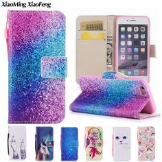 For Apple iPhone 6 Case Leather Wallet Card Slot Phone Case iPhone 6 Cover Cat Flip Case For iPhone 6s Coque iPhone 6 6s Plus