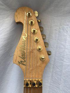 Washburn custom shop ivory electric guitar made in the USA. Washburn Guitars, Birdseye Maple, Floyd Rose, Nuno, Electric Guitars, Bass, Ivory, The Originals, Shopping