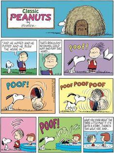 Linus Peanuts, Peanuts Cartoon, Charlie Brown And Snoopy, Peanuts Comics, Snoopy Love, Snoopy And Woodstock, Snoopy Comics, Funny Comics, Charlie Brown Comics