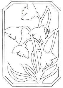 Трафареты схемы цветов