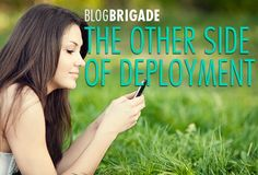 Guest Blog: The Other Side of Deployment So true! Any wife who has been through deployment can relate to this