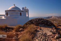 Santorini by csillogo11  aegean aegean sea afternoon blue caldera church cyclades europe greece greek greek chatolic holiday