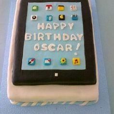 Torta Ipad by Rina Padilla...KEIK